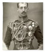 Prince Albert Victor Fleece Blanket