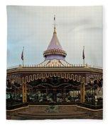Prince Charmings Regal Carousel Fleece Blanket