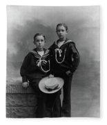 Princes Amedeo And Aimone Fleece Blanket