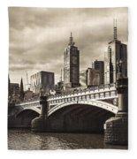 Princess Bridge Fleece Blanket