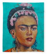 Princess Frida Fleece Blanket