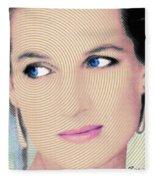 Princess Lady Diana Fleece Blanket