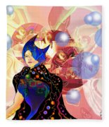 Princess Of Light Fleece Blanket