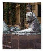 Princeton Tigers Fleece Blanket