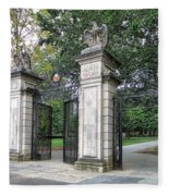 Princeton University Main Gate Fleece Blanket