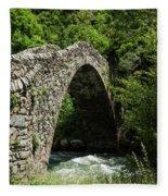 Principality Of Andorra. Pont De La Fleece Blanket