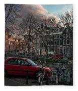 Prinsengracht 791. Amsterdam. Fleece Blanket