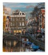 Prinsengracht 807. Amsterdam Fleece Blanket