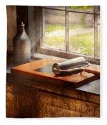 Printer - A Hope And A Brayer Fleece Blanket