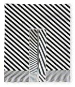 Prism Stripes 1 Fleece Blanket