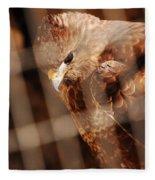 Prisoner Hawk  Fleece Blanket