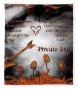 Private Dancer Fleece Blanket