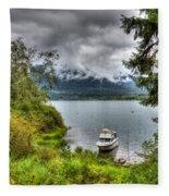 Private Dock Fleece Blanket