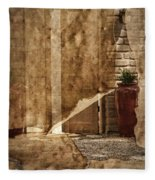 Private Entrance Fleece Blanket