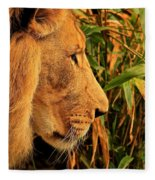 Profiles Of A King Fleece Blanket