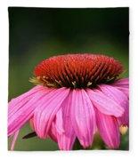 Profiling Echinacea Fleece Blanket