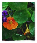 Prolonging Summer Fleece Blanket