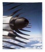 Propeller Movement Fleece Blanket
