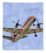 Propelling On In By Diana Sainz Fleece Blanket