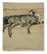 Propitation, 1930, 1st Edition Fleece Blanket