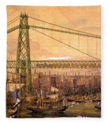 Proposed Railway Bridge Fleece Blanket