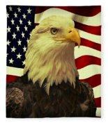 Proud American Fleece Blanket