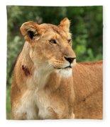 Proud Lioness Fleece Blanket
