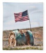 Proud To Be An American Fleece Blanket