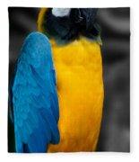 Proud Yellow Fleece Blanket