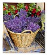 Provence Lavender Fleece Blanket