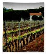 Provence Vineyard Fleece Blanket