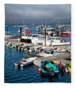 Provincetown Piers Fleece Blanket