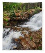 Provo River Falls Fleece Blanket