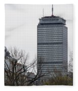 Prudential Tower Fleece Blanket