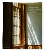 Psalm 118 24 This Is The Day Which The Lord Hath Made Fleece Blanket