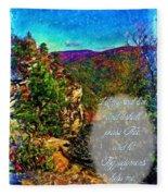 Psalm 119 175 Fleece Blanket