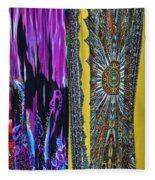 Psychedelic Dresses Fleece Blanket