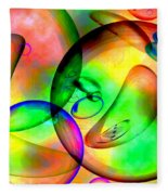 Psychedelic Fleece Blanket
