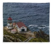 Pt Reyes Lighthouse Fleece Blanket
