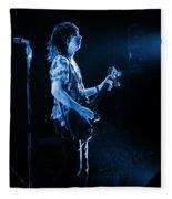 Pt78 #2 In Blue Fleece Blanket