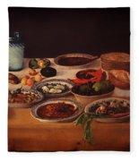 Puebla Kitchen Fleece Blanket