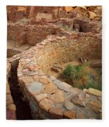 Pueblo Bonito Fleece Blanket