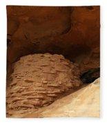 Pueblo Indian Ruins Fleece Blanket