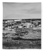 Pueblo Landscape Fleece Blanket