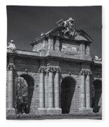 Puerta De Alcala Fleece Blanket