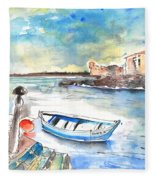 Puerto De La Cruz 02 Fleece Blanket