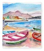Puerto De Sardina 03 Fleece Blanket