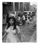 Puerto Rico Slum, 1942 Fleece Blanket