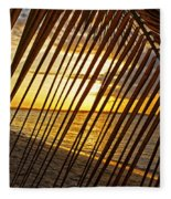 Puerto Rico Sunset 2 Fleece Blanket