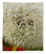 Puff Dandelion Fleece Blanket